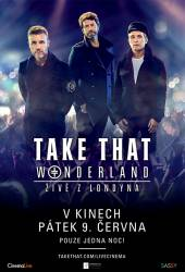 Take That: Wonderland živě z Londýna